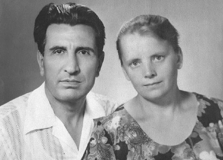 Иван с женой Александрой